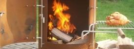Garden Kitchen in vlammen