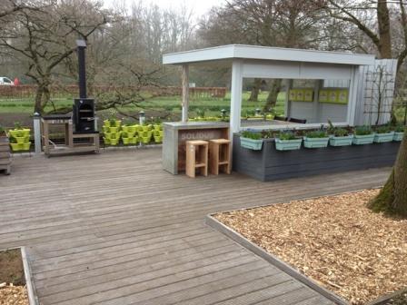 Garden Kitchen op de keukenhof 2014