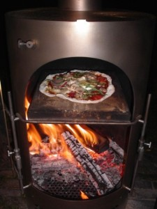 Garden Kitchen pizza oven