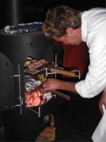 barbecue buiten koken garden kitchen