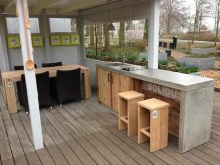 garden kitchen keukenhof 2014