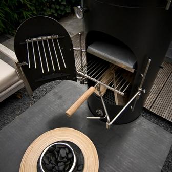 rookhaken garden kitchen buiten keuken