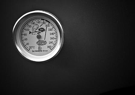 temperatuurmeter buiten keuken garden kitchen